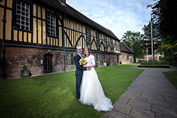 Merchant adventurer's hall wedding venue york